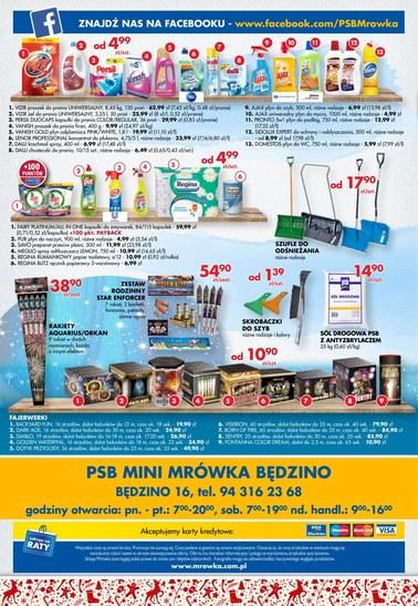 Gazetka promocyjna PSB Mrówka, ważna od 30.11.2018 do 16.12.2018.