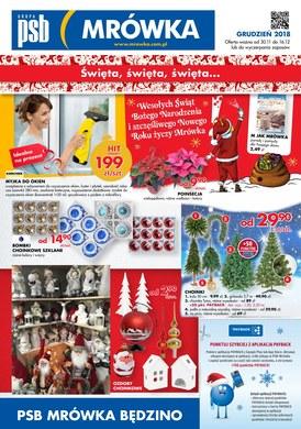 Gazetka promocyjna PSB Mrówka - Święta, święta, święta - Będzino