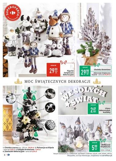 Gazetka promocyjna Carrefour, ważna od 04.12.2018 do 24.12.2018.