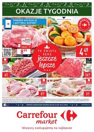 Gazetka promocyjna Carrefour Market, ważna od 04.12.2018 do 10.12.2018.