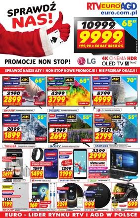 Gazetka promocyjna RTV EURO AGD, ważna od 30.11.2018 do 31.12.2018.