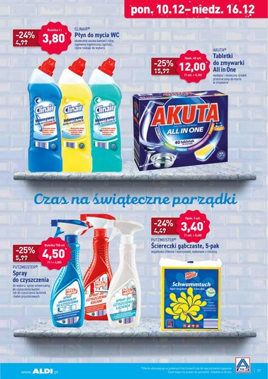 Gazetka promocyjna Aldi, ważna od 10.12.2018 do 15.12.2018.