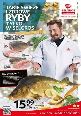 Gazetka promocyjna Selgros Cash&Carry - Takie świeże i zdrowe ryby