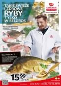 Gazetka promocyjna Selgros Cash&Carry - Takie świeże i zdrowe ryby - ważna do 16-12-2018