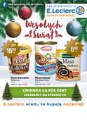 Gazetka promocyjna E.Leclerc - Wesołych Świąt - Gdańsk - ważna do 24-12-2018