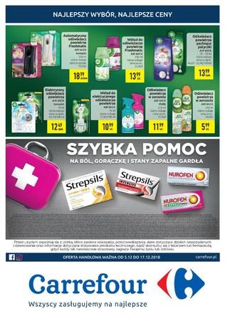 Gazetka promocyjna Carrefour, ważna od 05.12.2018 do 17.12.2018.