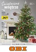 Gazetka promocyjna OBI - Świąteczne wnętrzne - ważna do 02-01-2019