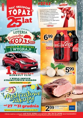 Gazetka promocyjna Topaz - Wystrzałowe zakupy