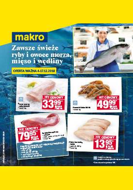 Gazetka promocyjna Makro Cash&Carry - Zawsze świeże ryby