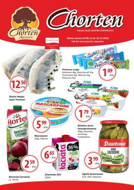 Gazetka promocyjna Chorten - Plakat promocyjny