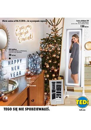 Gazetka promocyjna TEDi, ważna od 06.12.2018 do 31.12.2018.