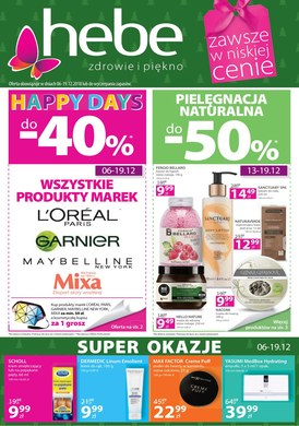 Gazetka promocyjna Hebe - Happy Days