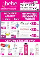 Gazetka promocyjna Hebe - Otwarcie - Warszawa