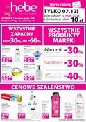 Gazetka promocyjna Hebe - Otwarcie - Warszawa - ważna do 11-12-2018