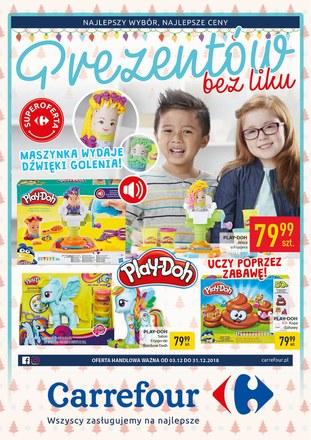 Gazetka promocyjna Carrefour, ważna od 03.12.2018 do 31.12.2018.