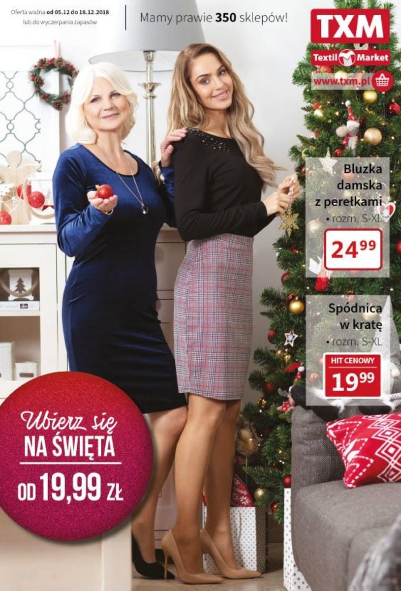 Gazetka promocyjna Textil Market - ważna od 05. 12. 2018 do 18. 12. 2018