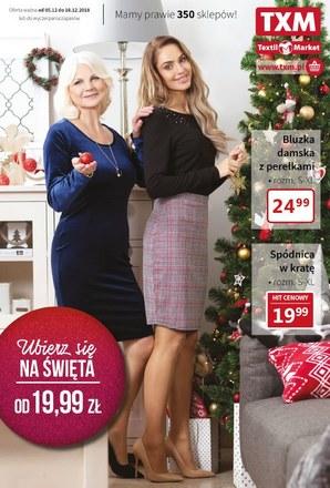 Gazetka promocyjna Textil Market, ważna od 05.12.2018 do 18.12.2018.