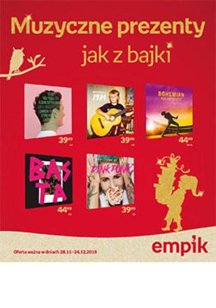 Gazetka promocyjna EMPiK, ważna od 28.11.2018 do 24.12.2018.