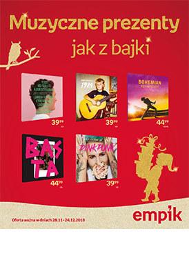 Gazetka promocyjna EMPiK - Muzyczne prezenty jak z bajki