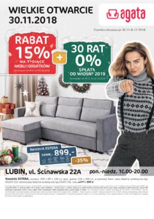 Gazetka promocyjna Agata , ważna od 30.11.2018 do 08.12.2018.