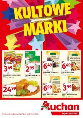 Gazetka promocyjna Auchan - Kultowe marki - supermarkety