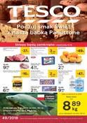 Gazetka promocyjna Tesco Hipermarket - Poczuj smak Świąt  - ważna do 12-12-2018