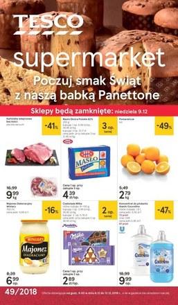 Gazetka promocyjna Tesco Supermarket, ważna od 06.12.2018 do 12.12.2018.