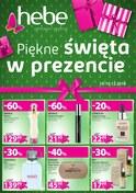 Gazetka promocyjna Hebe - Piękne święta w prezencie  - ważna do 19-12-2018