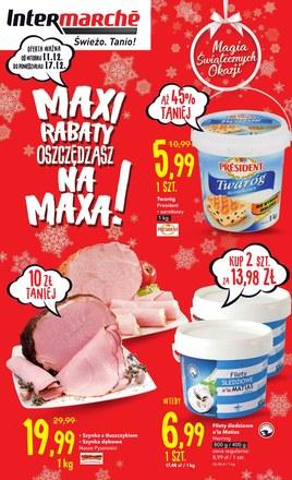 Gazetka promocyjna Intermarche Super, ważna od 11.12.2018 do 17.12.2018.