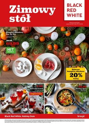Gazetka promocyjna Black Red White, ważna od 06.12.2018 do 31.12.2018.