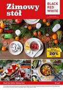 Gazetka promocyjna Black Red White - Zimowy stół