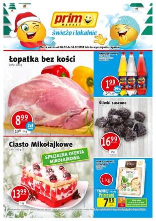 Gazetka promocyjna Prim Market, ważna od 06.12.2018 do 16.12.2018.