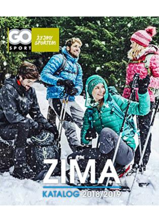 Gazetka promocyjna GO Sport, ważna od 06.12.2018 do 20.03.2019.