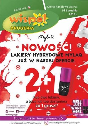 Gazetka promocyjna Drogeria Wispol, ważna od 01.12.2018 do 31.12.2018.
