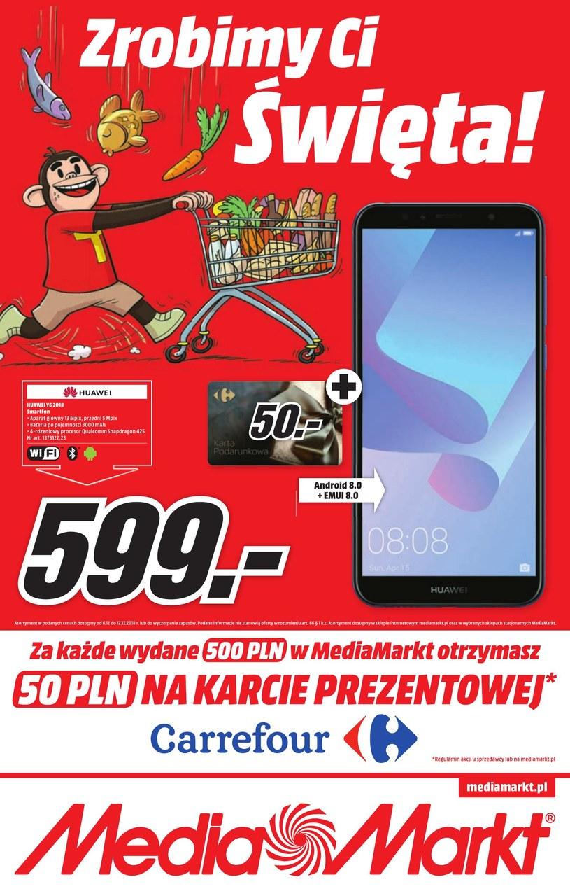 Gazetka promocyjna Media Markt - ważna od 06. 12. 2018 do 12. 12. 2018