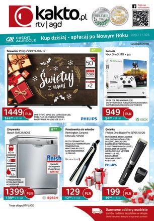 Gazetka promocyjna Kakto.pl, ważna od 30.11.2018 do 31.12.2018.