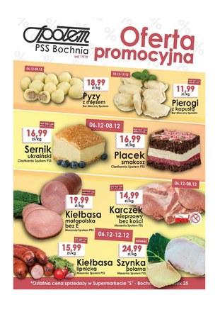 Gazetka promocyjna PSS Bochnia, ważna od 06.12.2018 do 12.12.2018.