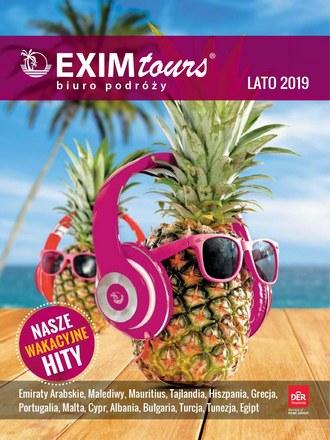 Gazetka promocyjna EXIM Tours, ważna od 01.06.2019 do 30.09.2019.