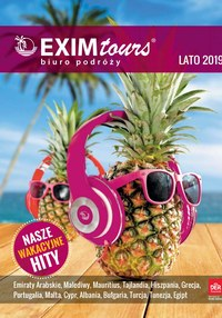 Gazetka promocyjna EXIM Tours - Lato 2019 - ważna do 30-09-2019