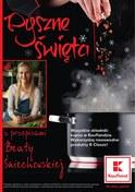 Gazetka promocyjna Kaufland - Pyszne święta  - ważna do 24-12-2018