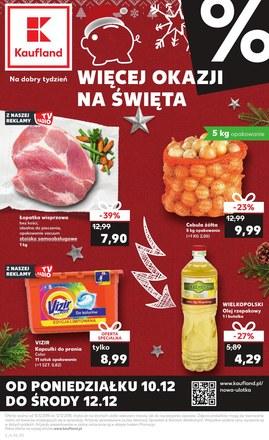 Gazetka promocyjna Kaufland, ważna od 10.12.2018 do 12.12.2018.