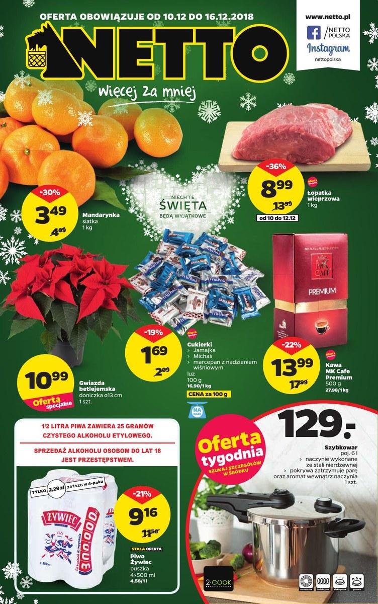 0a5e604ab3f81 Gazetka Promocyjna Netto - Promocyjni.pl - oferta do 2018-12-16. (47040)