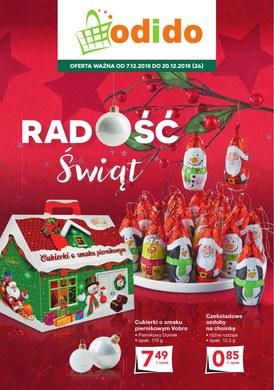 Gazetka promocyjna Odido - Radość świąt