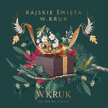 Gazetka promocyjna W.Kruk, ważna od 12.11.2018 do 24.12.2018.