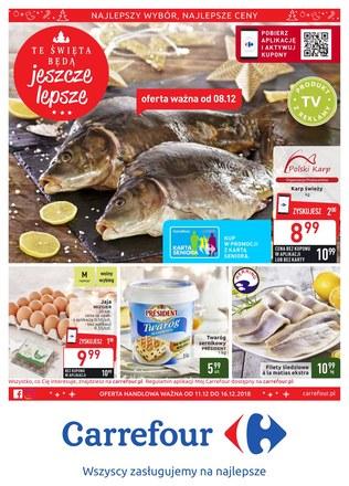 Gazetka promocyjna Carrefour, ważna od 11.12.2018 do 16.12.2018.