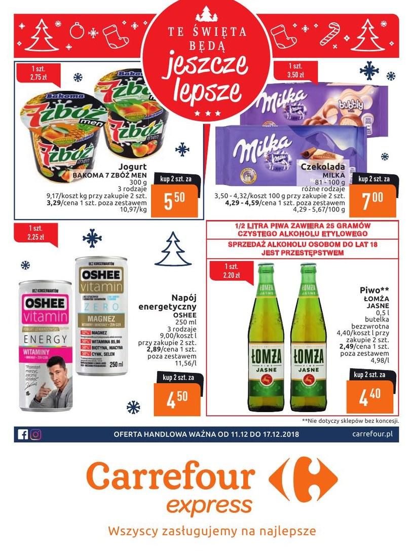Gazetka promocyjna Carrefour Express - ważna od 11. 12. 2018 do 17. 12. 2018