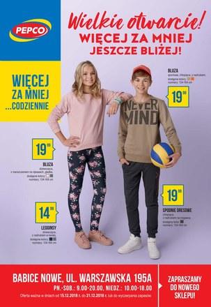 Gazetka promocyjna Pepco, ważna od 15.12.2018 do 21.12.2018.