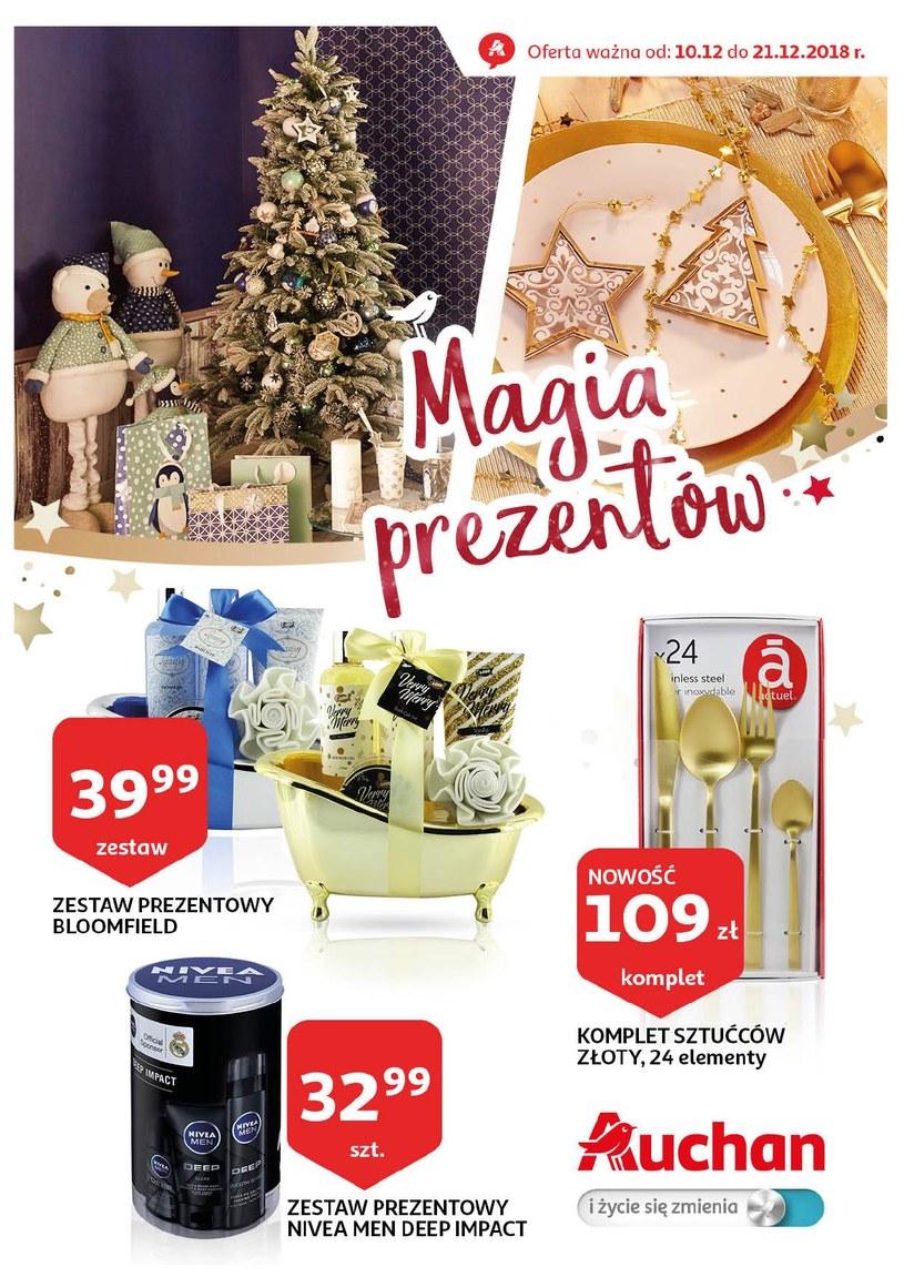 Gazetka promocyjna Auchan - ważna od 10. 12. 2018 do 21. 12. 2018