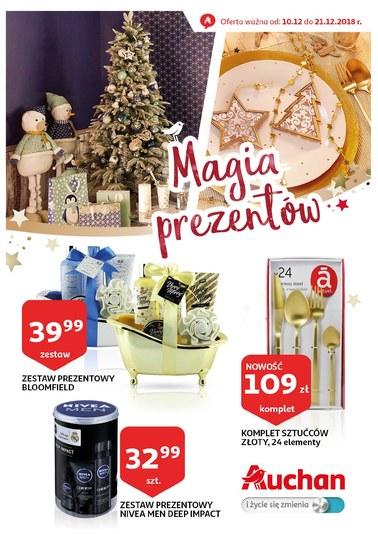 Gazetka promocyjna Auchan, ważna od 10.12.2018 do 21.12.2018.
