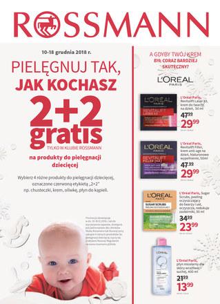 Gazetka promocyjna Rossmann, ważna od 10.12.2018 do 18.12.2018.